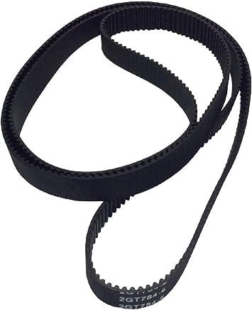 GT2 3D Printer Timing Belt Annular Loop Gear Rubber 6mm Width 2mm Pitch 930-2GT