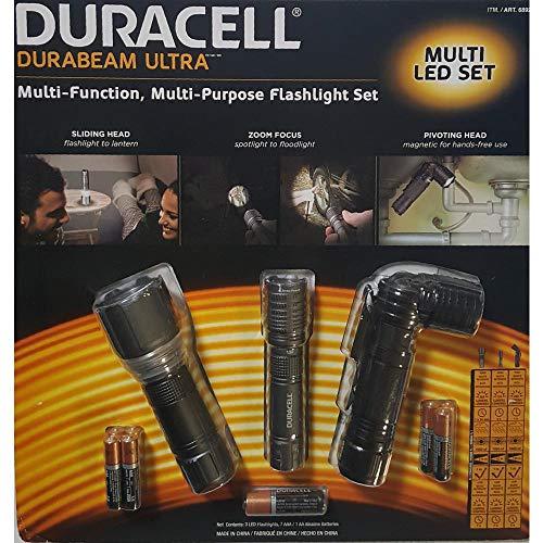 Duracell Durabeam Ultra Multi LED Flashlight Set