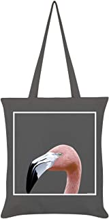 Inquisitive Creatures Flamingo Tote Bag