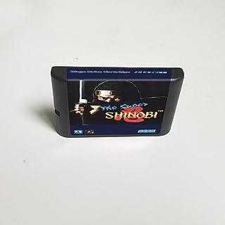 Lksya Super Shinobi - Carte de jeu MD 16 bits pour cartouche de console de jeu vidéo Sega Megadrive Genesis (coque japonaise)
