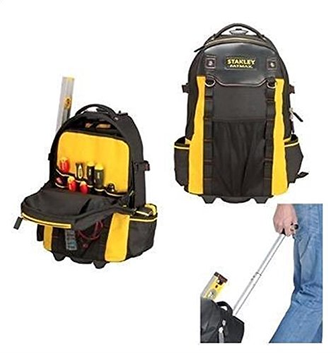 New Stanley STA179215 Fatmax Wheeled Backpack Tool Bag on Wheels 1-79-215