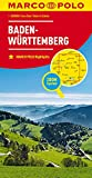 MARCO POLO Karte Deutschland Blatt 11 Baden-Württemberg 1:200 000: Wegenkaart 1:200 000 (MARCO POLO Karten 1:200.000)