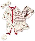 Jessica Simpson Baby Girls' Pants, 5 Piece Set Confetti, 3-6 Months