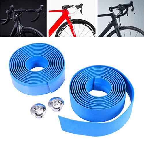 LIOOBO 4 Paar Fahrradlenker Wrap Anti-Rutsch-Fahrräder Lenkerband Radfahren Griffband Streifen für den Winter im Freien - 2