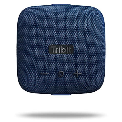 Haut-parleur Bluetooth Tribit StormBox Micro haut-parleurs de douche avec son puissant, jumelage stéréo sans fil, IP67, étanche et résistant à la poussière