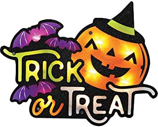 Impact Innovations Silhouette Lighted Shimmer Trick Or Treat Jack