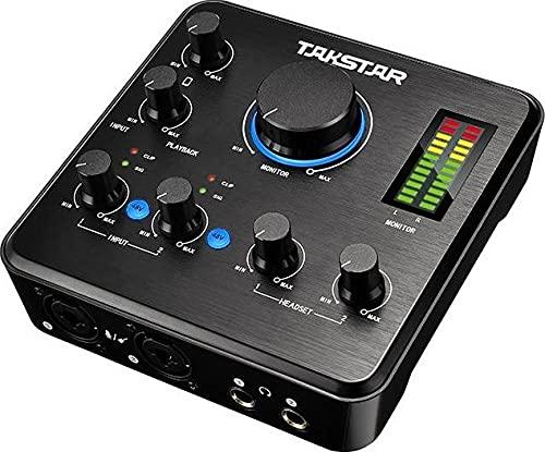 SCHEDA AUDIO PODCAST TAKSTAR MX-630 USB 2 CANALI