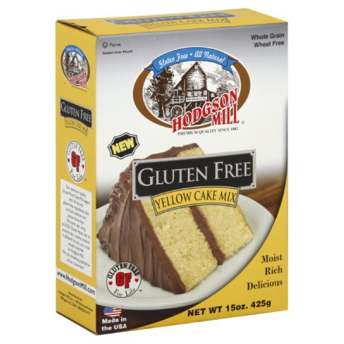 Hodgson Mill Yellow Mix, Gluten Free, 15-Ounce (Pack of 6)