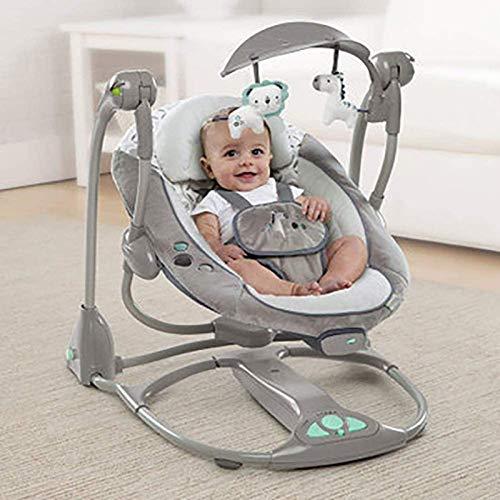 Asiento de swing de bebé, columpio portátil eléctrico para bebé nacido con hamaca -Door baby guardaespaldas y mecedora, b WTZ012 (Color : C)