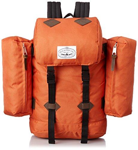 Poler Stuff Bag Retro buttonhole Orange Burnt Orange Size:50 x 40 x 6 cm, 18 Liter