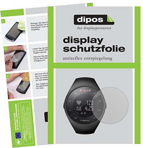 dipos I 6X Schutzfolie matt kompatibel mit Polar M200 Folie Bildschirmschutzfolie