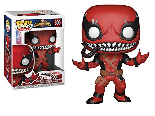 Funko Pop!- Games: Marvel Contest of Champions Venompool Figura de Vinilo (26710)
