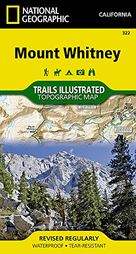 Mount Whitney (National Geographic Trails Illustrated Map (322))