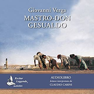 Mastro-don Gesualdo audiobook cover art