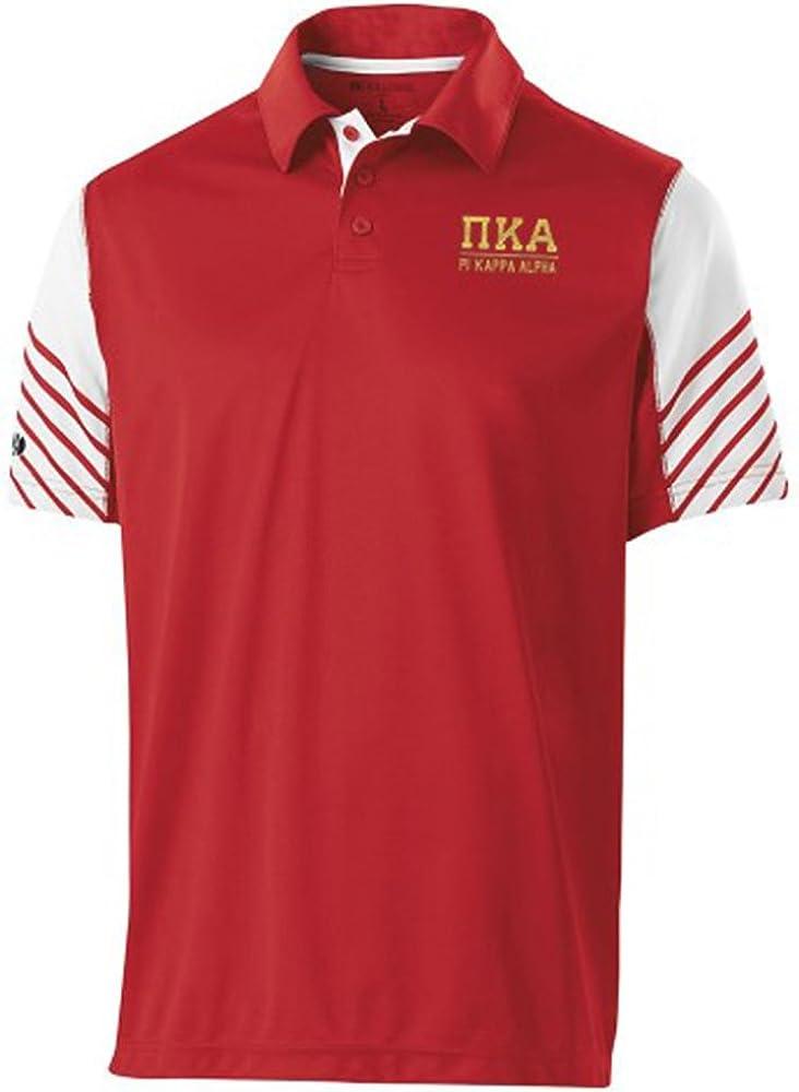 Pi Kappa Alpha Pike Greek Letter Electrify Polo