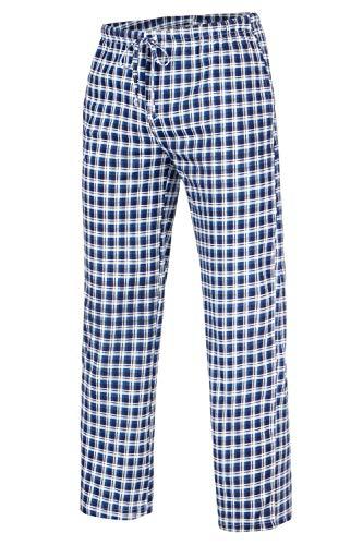 Di Ficchiano - Pantalones largos de pijama para hombre Patr