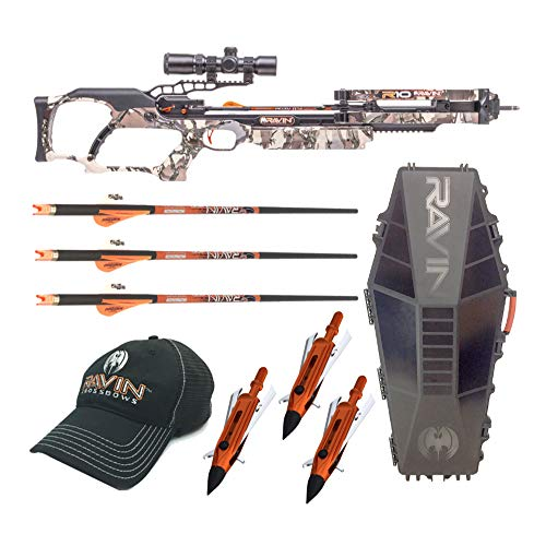 Ravin Crossbows R10 400 FPS Crossbow Elite Bundle (4 Items)