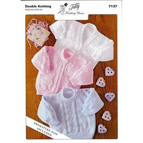 Pattern For Premature Baby Cardigans Amazon Co Uk