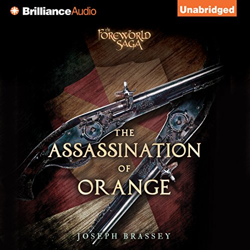The Assassination of Orange audiobook cover art