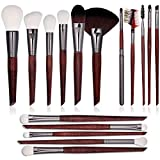 16 PCs-Professional Makeup Brushes Set Synthetic With Tapered&Wooden Handle-Foundation Brushes & Eyeshadow Brushes &Concealer Brush-Make up Brushes Kit