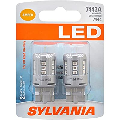 SYLVANIA - 7443 Mini Interior & Exterior Auxillary Bulbs