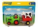 Playmobil 626079 - 1.2.3 Tractor con Remolque