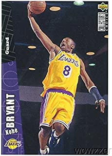 Kobe Bryant 1996/97 Upper Deck CC #267 ROOKIE Card in Mint Condition! Los Angeles Lakers Future Hall of Famer! Shipped in Ultra Pro Top Loader to Protect it!