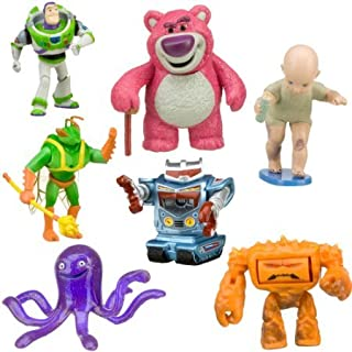 Disney Toy Story 3 Villains Figure Play Set -- 7-pc. (Buzz Lightyear, Lots-o'-huggin' Bear, Big Baby, Twitch, Chunk, Stretch and Sparks)