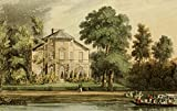 Repository of Arts 1817 Mrs Palmers villa Richmond Print Type Paper Size: 18.00 x 24.00 inches Licensor: Printable Heaven