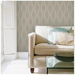 Tempaper Twig Diamond | Designer Removable Peel and Stick Wallpaper