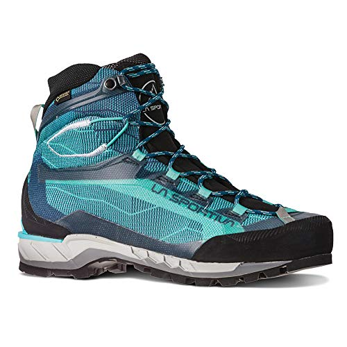 La Sportiva Trango TECH GTX Women's Hiking Shoe, Aqua/Opal, 36.5