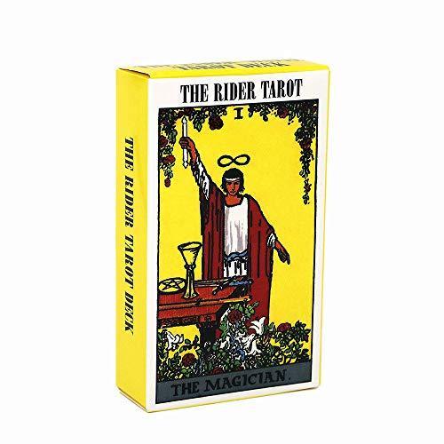 Zyx Conjunto de Cartas de Tarot-Ingls Tarot de Tarot-78pcs Centennial Pintor Tarot Tarjetas-Tarjetas Tarjetas de Juego Caja de Color: Adecuado para Juegos de Fiesta, Regalos de cumpleaos