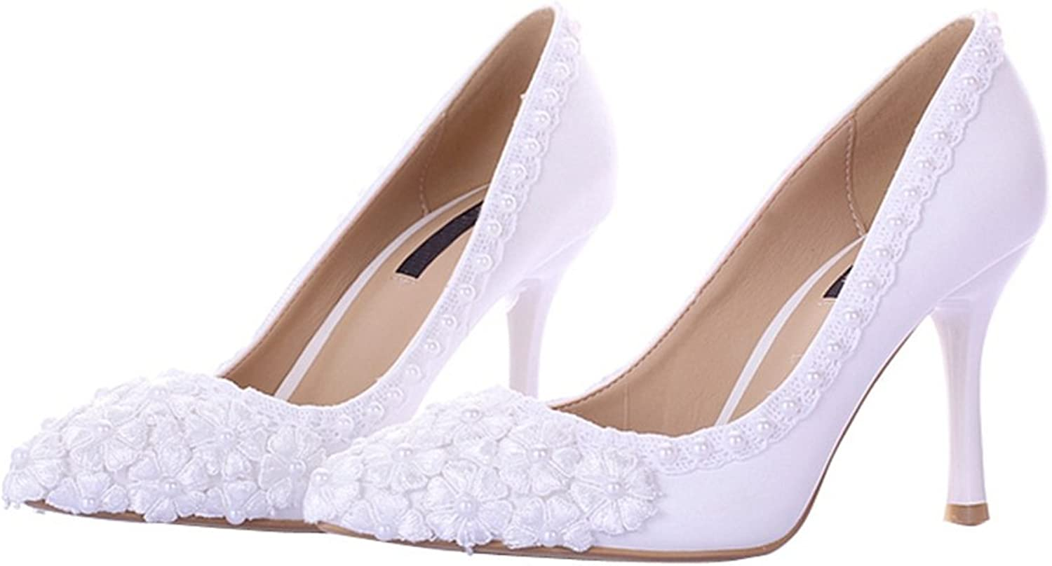 Miyoopark LL188 Women's Elegant Bridal Bridesmaid Wedding Evening Pumps shoes