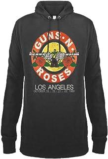 Amplified Clothing Guns N' Roses 'Vintage Bullet' (Slate) Pull Over Hoodie