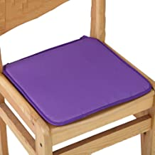 seat Cushion, 40x40cm 7 Colors Cotton Blend Cushions Dining Garden Home Kitchen Office Chair Seat Pads Cushion,Purple,40x4...