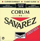 Savarez Cuerdas para Guitarra Clásica Alliance Corum 500PR Juego Tensión estandard rojo