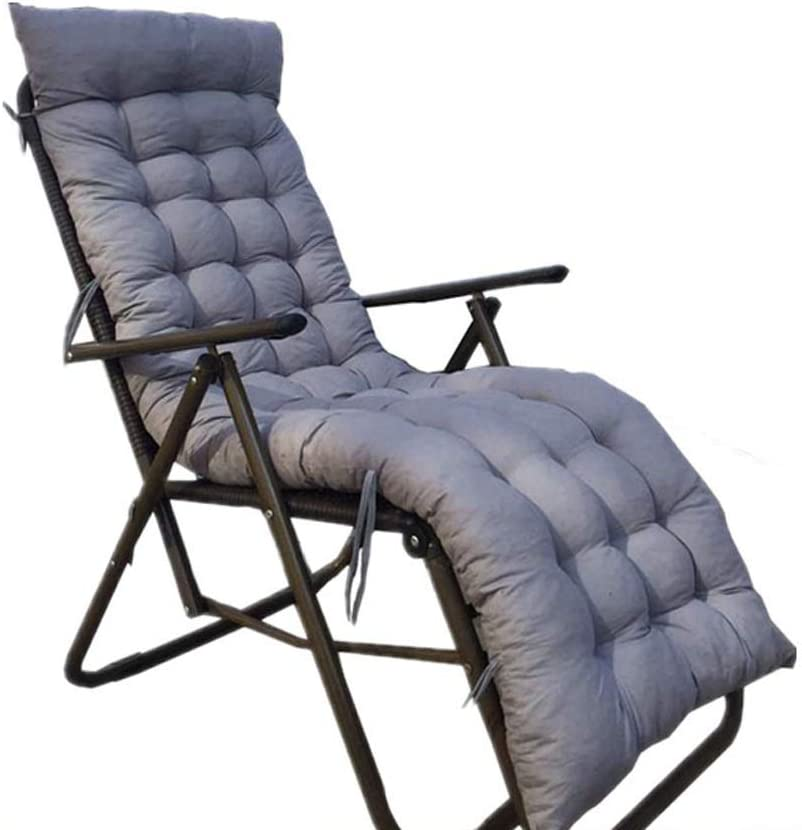 ZXCVBNM Sun Lounger Cushion Lounge Pads Complete Free Shipping 2021 Chair