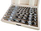 PAULIMOT Schlangenbohrer-Satz, 8-teilig Ø 6 – 20 mm, Länge 230 mm, Form Lewis