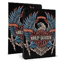 "iPad mini4/5 7.9"" ケース Harley-Davidson ハーレーダビッドソン 薄型 軽量 傷防止 二つ折りスタンド スマートケース Apple iPad オートウェイクアップ/スリープ機能"