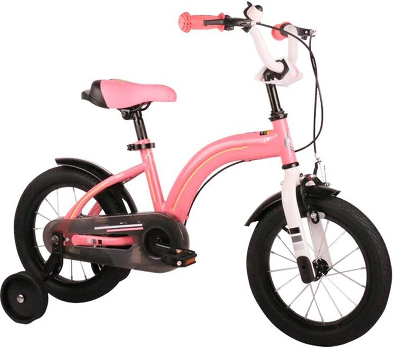 Descuento del 70% barato YUMEIGE Bicicletas Infantiles Bicicletas para Niños 12 12 12 14 16 Pulgadas, Bicicleta para Niños de Acero de Alto Cochebono con Rueda de Entrenamiento Regalo para Niños y niñas de 2 a 8 años Disponible  ahorra hasta un 30-50% de descuento