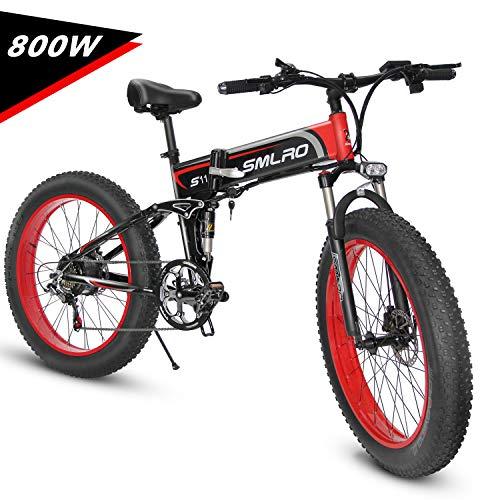 KUDOUT Bicicleta eléctrica de montaña