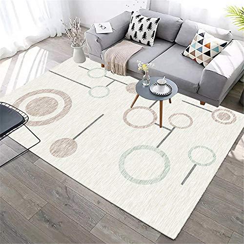 """Habitación de niña Alfombra Alfombra de salón Beige Rectangular Estilo Moderno Lavable a máquina alfombras habitacion Matrimonio Habitaciones Juveniles 40X60CM 1ft 3.7"""" X1ft 11.6"""""""