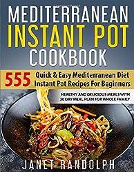 which is the best mediterranean diet instant pot cookbook in the world