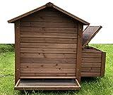 """Zoopplier Hühnerstall Hühnerhaus Chickenhouse Nr. 03""""Gickelheim mit Eierbox"""