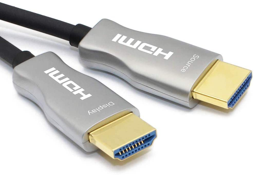 MavisLink Fiber Optic HDMI Cable 10ft 4K 60Hz HDMI 2.0 Cable 18Gbps HDMI Cord Support ARC HDR HDCP2.2 3D Dolby Vision for Blu-ray/TV Box/HDTV / 4K Projector/Home Theater