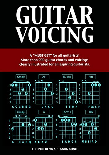 Guitar: Voicing Book (Guitar Chords) - Guitar Lesson Complete ...