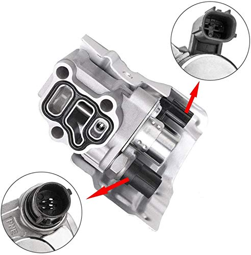 Benefast VTEC Solenoid Spool Valve w/Timing Oil Pressure Switch & Gasket Compatible with Honda Accord CR-V Element Civic Acura RSX Acura TSX Replacement# 15810-RAA-A01 15810-RAA-A03