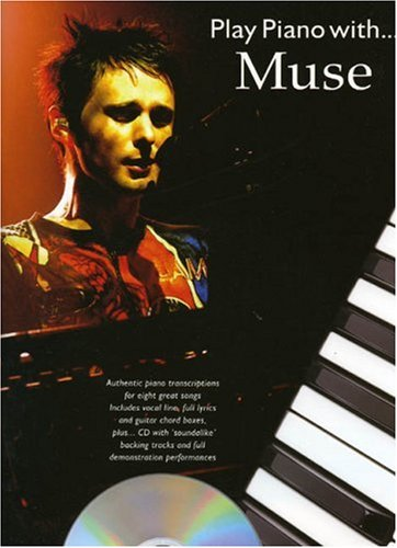 Play Piano With... Muse (Book, CD): Noten, CD für Gesang, Klavier, Gitarre