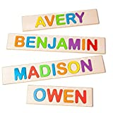 Fat Brain Toys Wooden Personalized Name Puzzle - Flat Rate up to 9 Letters