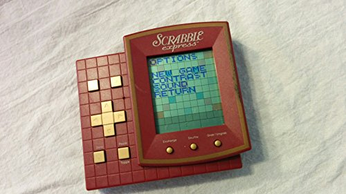 SCRABBLE EXPRESS Electronic Handheld Game (1999 Edition/Includes...